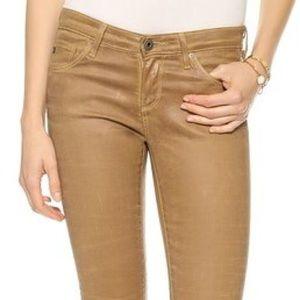 AG Super skinny Khaki jeans NWT!